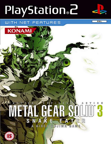 Metal Gear Solid 3 Snake Eater PS2 Game