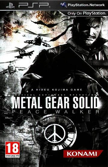 Metal Gear Solid Peace Walker PSP Game