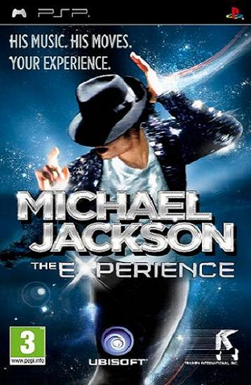 Michael Jackson The Experience PSP Game