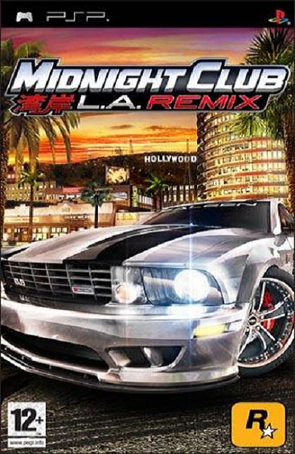 Midnight Club LA Remix PSP Game