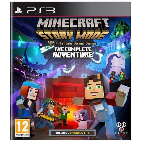 Minecraft Story Mode Complete Adventure PS3 Game