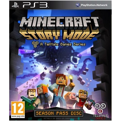 Minecraft Story Mode PS3 Game