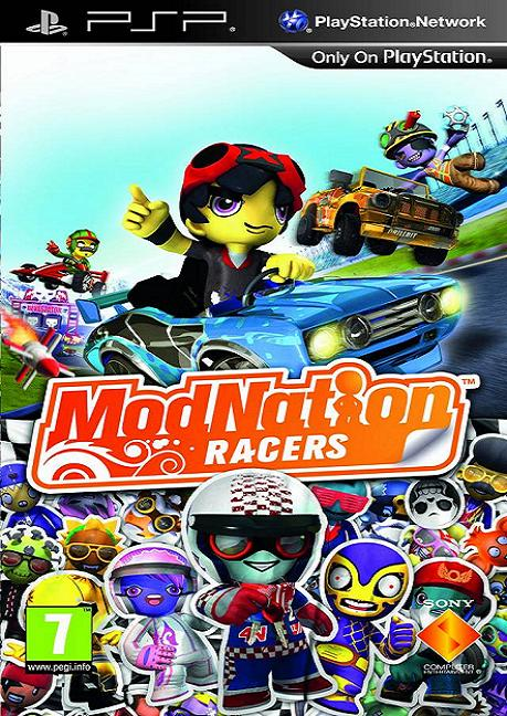 ModNation Racers [Essentials] PSP Game