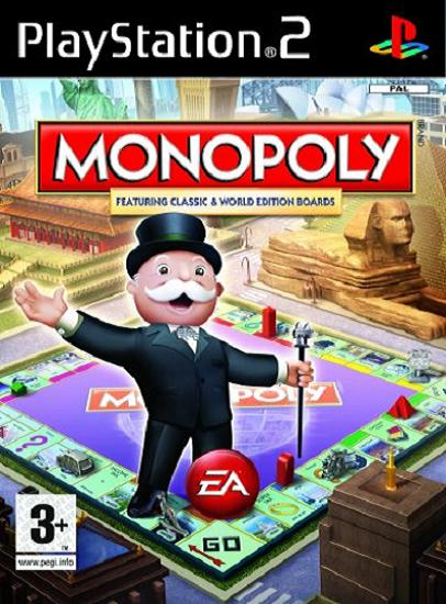 Monopoly (AKA Here and Now: The World Edition) PS2 Game