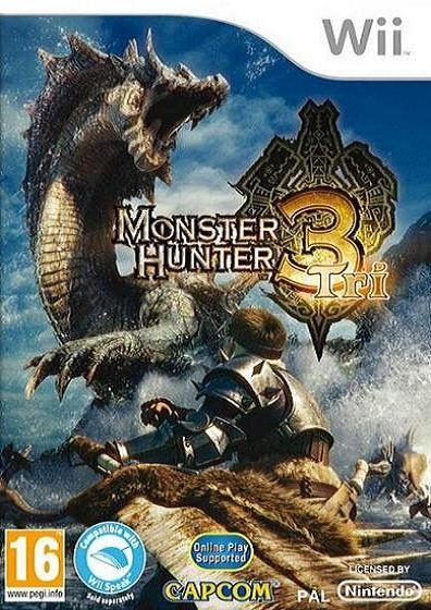 Monster Hunter 3 Tri Nintendo Wii Game