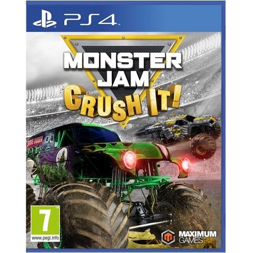Monster Jam Crush It PS4 Game