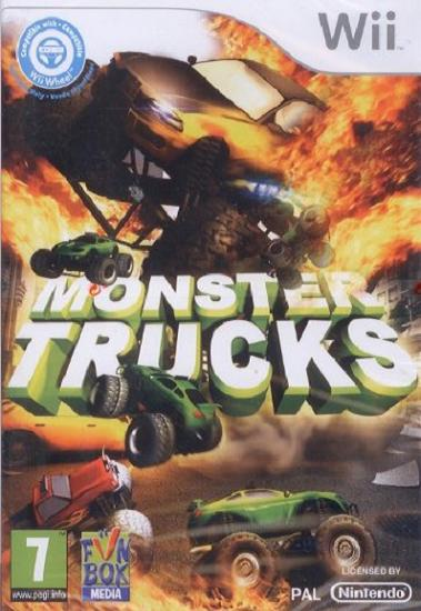 Monster Trucks Nintendo Wii Game