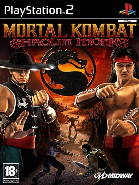 Mortal Kombat Shaolin Monks PS2 Game