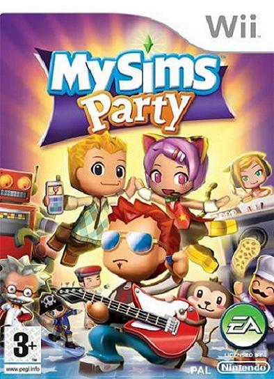 My Sims Party Nintendo Wii Game
