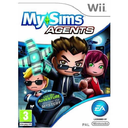 MySims Agents Nintendo Wii Game