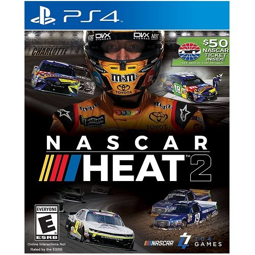 NASCAR Heat 2 PS4 Game