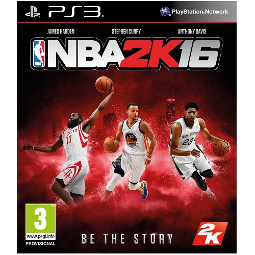 NBA 2K16 PS3 Game