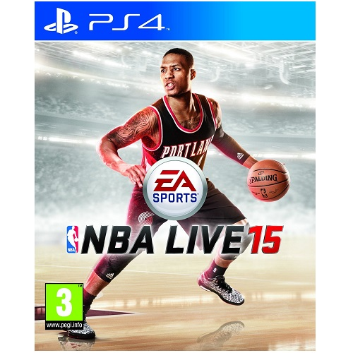 NBA Live 15 PS4 Game