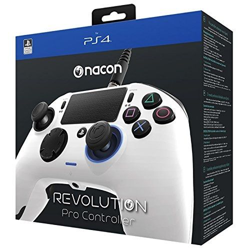 Nacon Revolution Pro Controller [White] PS4 | Gamereload