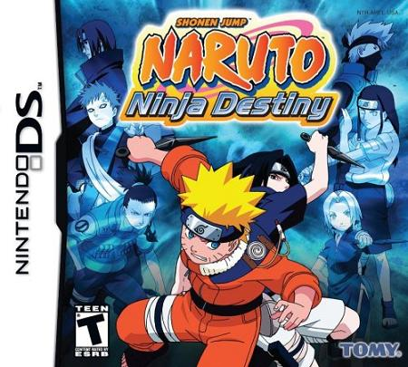 Naruto Ninja Destiny Nintendo DS Game