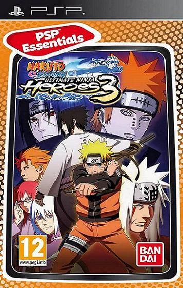 Naruto Shippuden Ultimate Ninja Heroes 3 [Essentials] PSP Game