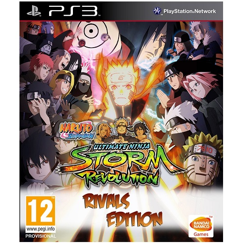 Naruto Shippuden Ultimate Ninja Storm Revolution Rivals Edition PS3 Game