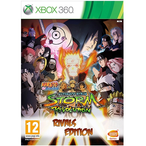 Naruto Shippuden Ultimate Ninja Storm Revolution Rivals Edition Xbox 360 Game