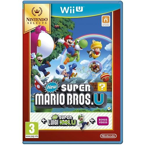 New Super Mario Bros U [Selects] Wii U Game