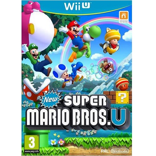 New Super Mario Bros U Wii U Game