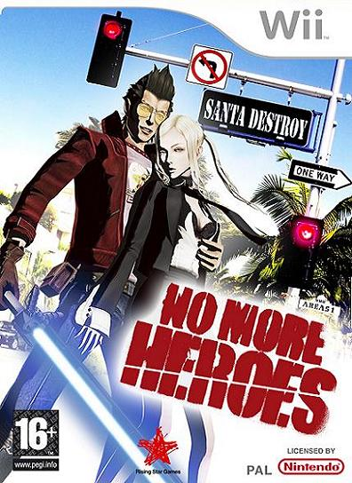 No More Heroes Nintendo Wii Game