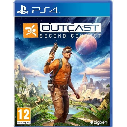Outcast Second Contact PS4 Game