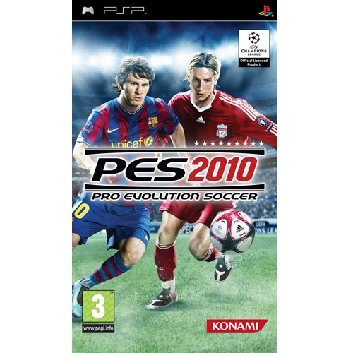 PES 2010 Pro Evolution Soccer PSP Game