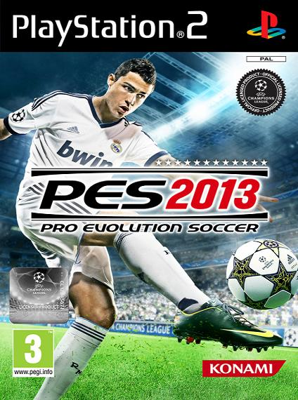 PES 2013 Pro Evolution Soccer PS2 Game