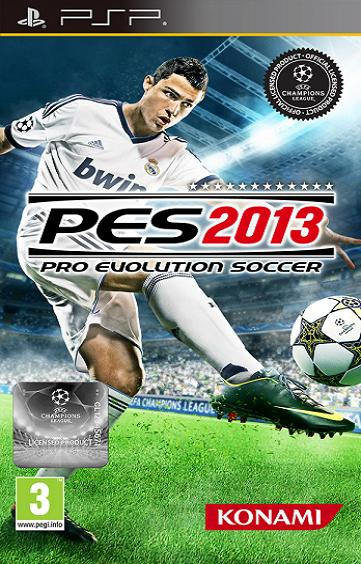 PES 2013 Pro Evolution Soccer PSP Game