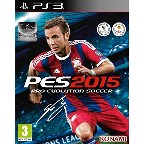 PES 2015 Pro Evolution Soccer PS3 Game