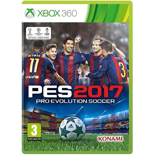PES 2017 Pro Evolution Soccer Xbox 360 Game