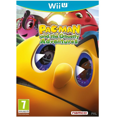 Pac-Man and the Ghostly Adventures Wii U Game