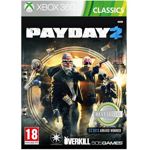 Payday 2 Classics Xbox 360 Game