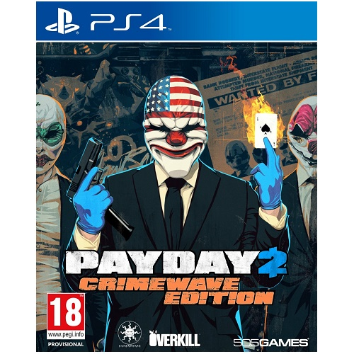Payday 2 Crimewave Edition PS4 Game