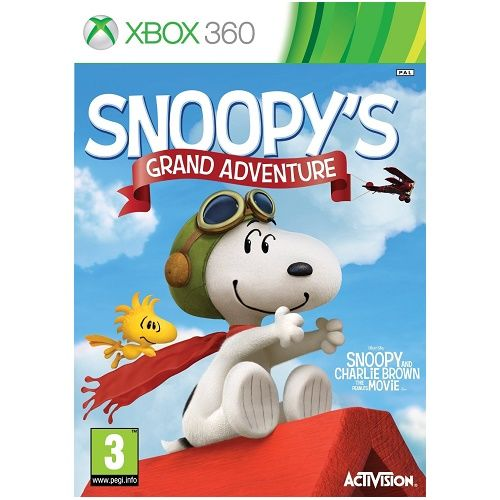 Peanuts Movie Snoopys Grand Adventure Xbox 360 Game
