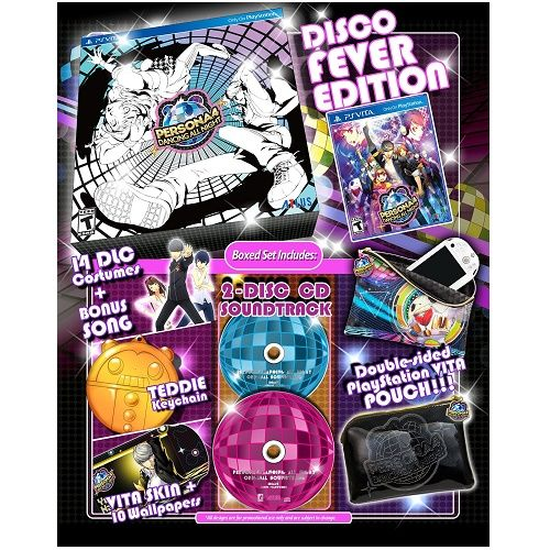 Persona 4 Dancing All Night Disco Fever Edition PS Vita Game