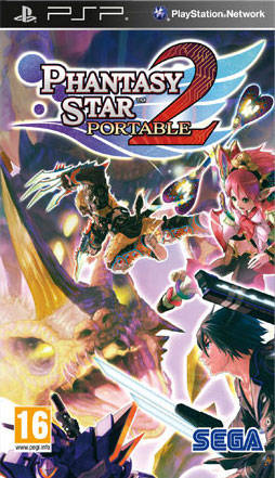 Phantasy Star Portable 2 PSP Game