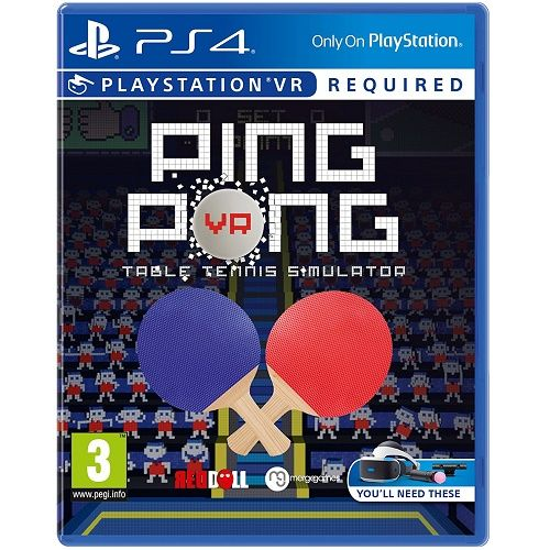 Ping Pong [PSVR required] PS4 Game