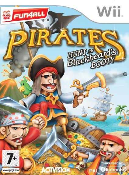 Pirates Hunt for Blackbeard's Booty (Fun 4 All) Nintendo Wii Game