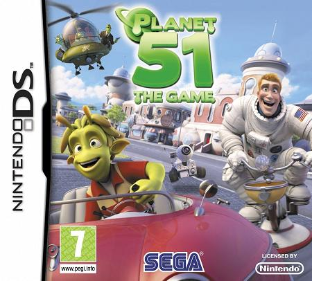 Planet 51 Nintendo DS Game