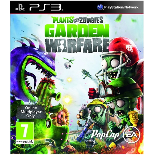 Plants vs Zombies Garden Warfare PS3 Game