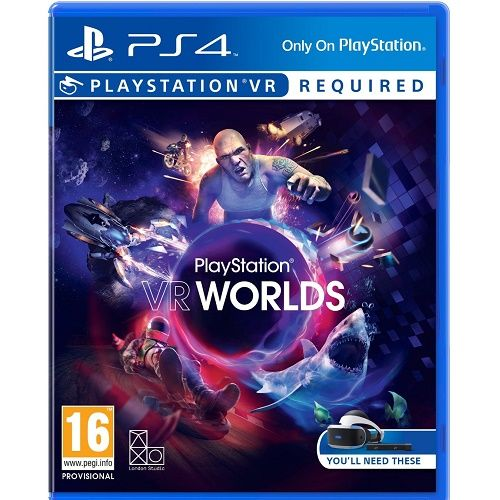 Playstation VR Worlds [PSVR required] PS4 Game