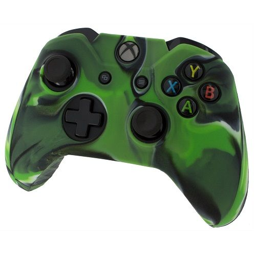 Pro Soft Silicone Skin Cover [Camo Green] Xbox One