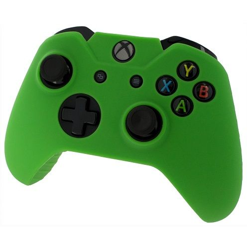 Pro Soft Silicone Skin Cover Green Xbox One | Gamereload