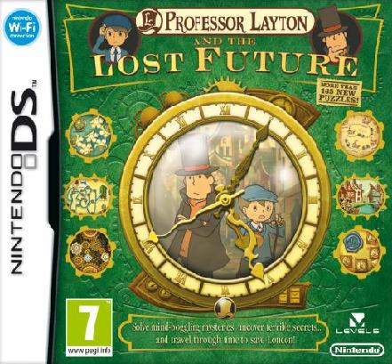 Professor Layton and the Lost Future Nintendo DS Game