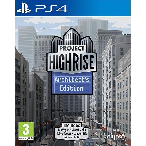 Project Highrise Architects Edition PS4 Game