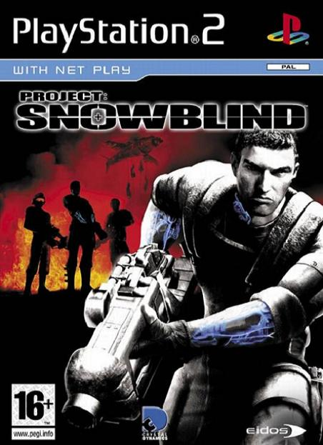 Project Snowblind PS2 Game