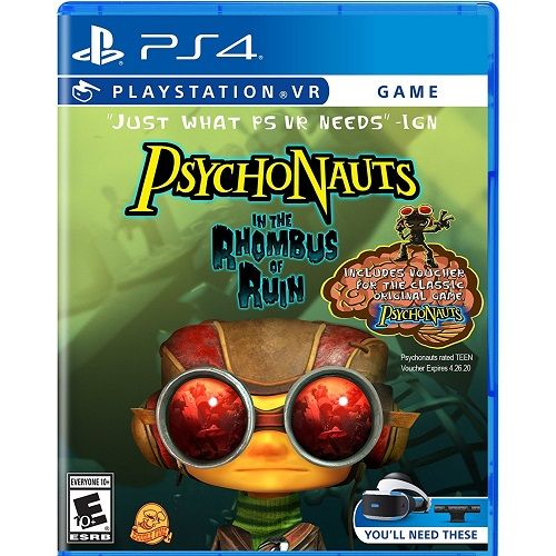 Psychonauts In Tthe Rhombus of Ruin [PSVR required] PS4 Game