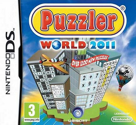Puzzler World 2011 Nintendo DS Game