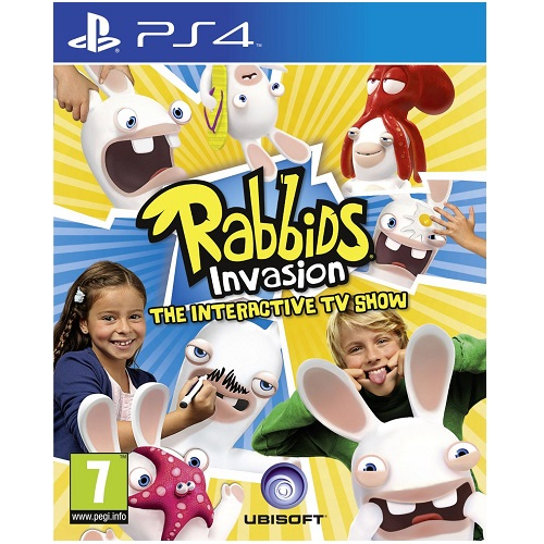 Rabbids Invasion PS4 Game